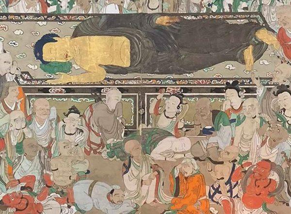 涅槃図(満昌寺 )